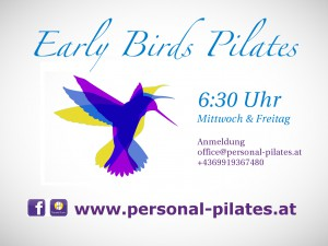 Early Birds Pilates Personal PIlates